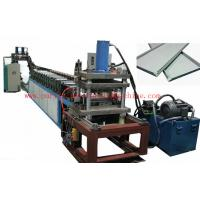 China PLC For High Speed Light Steel Stud and Ceiling Roll Forming Machine wholesale