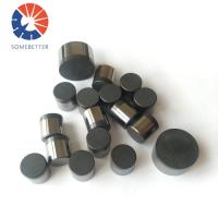 China China professional PDC Drill Bit Cutter / PDC Diamond Drill Inserts wholesale