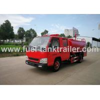 China JMC Water Tank Fire Fighting Vehicle , 4x2 Red Color Fire Fighting Truck wholesale