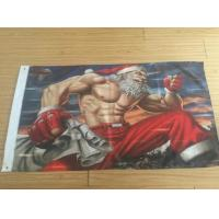 China 3x5FT Decorative 100D Advertising Banners And Flags For New Year / Merry Christmas wholesale