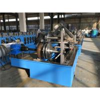 China Two Profile Change Top Hat Metal Roll Forming Machine 0.8 - 2.0 Thickness Auto Stacker wholesale