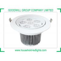 China Pure White LED Spot Ceiling Lights , 30 45 Degree Beam Angles High Power LED Spot Light wholesale
