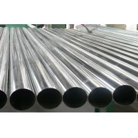 China AISI 304 Welded Stainless Steel Pipe Round For Chemical , Cold Drawn on sale