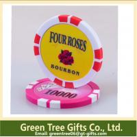 China Free artwork design quality guaranteed Custom metal poker chip on sale