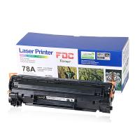 China Black 2100 Pages Yield Laserjet Ink Cartridges CE278A For HP Pro P1560 1566 wholesale