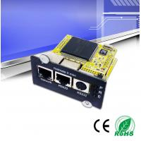 China SNMP Ups Network Management Card , SNMP Card For Ups Built - In WEB Server wholesale