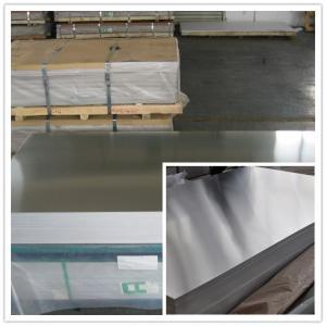 China Professional DC / CC Mill Finish Aluminum Sheet with 1100 1050  3003 3105 5052 wholesale