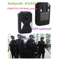 China OEM 1296P HD IR Night Vision Wearable Video Camera , 8 Hours Recording wholesale