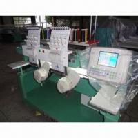 China Cap/Flat/T-shirts/Garments Making Embroidery Machine with 1000rpm Speed wholesale