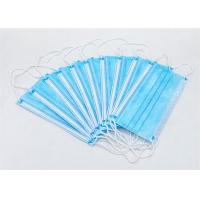 China School Disposable Non Woven Antiviral Face Mask Melt Blown Fabric Protective wholesale