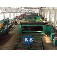 China 2m X 1m X 1m Gabion Machine Reno Mattress Machine Edge Winding Up Machine wholesale