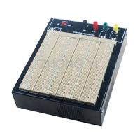 China ABS Plastic Brown Powered Breadboard 50000 Times Contact Life wholesale