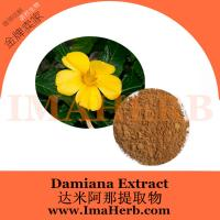 China Supply 100% Natural High Quality Damiana Leaf Extract 10:1 for Men Health wholesale