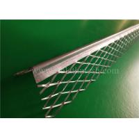 Buy cheap 3m Length Plaster Angle Bead 5cm Diamond Mesh Wings 0.4mm Thickness from wholesalers