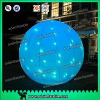 China Factory Directly Supply 2m LED Lighting Inflatable Ball For Event Party Decoration wholesale