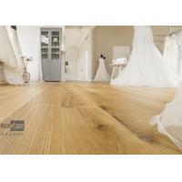 China Bespoke 20/6 x 300 x 2200mm ABC grade Oak Engineered Flooring for Royal Wedding Dress Pavilion in UK wholesale