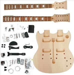 China Polished Body DIY Electric Guitar Kits wholesale
