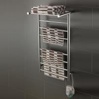 Quality 7 Bar shelf round tube stainless steel wall mounted economical and practical for sale