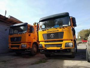 China 25ton 336HP 4 Wheel Drive Dump Truck SX3258DR384 With 9.726L Displacement wholesale