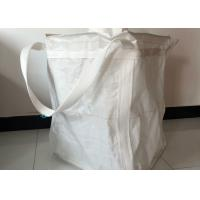 China Round White PP Woven Packaging Bags For Mechanical Loading And Unloading wholesale