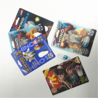 China Art Paper 3D Card Rhino Container Bullet Male Sexual Performance Enhancing Pill Packaging wholesale
