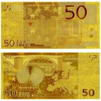China 50 Euro Gold Banknote European Money Collections wholesale