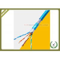 China 8 Cores Cat5e Network Cable SFTP Shield For 1000 Base - T Gigabit Ethernet wholesale