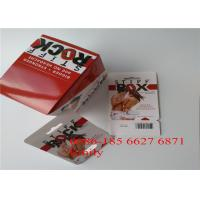 Quality Paper Material Blister Card Packaging For All Nature FX9000 Penis Power Capsules for sale
