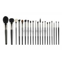 China Natural Hair Beauty Professional Brush Set 100% Cruelty Free With Wood Handle wholesale