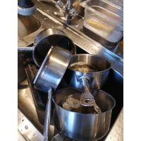 Heated Kitchen Stainless Steel Soak Tank 258L 2KW For Cleaning / Degreasing