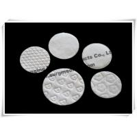 China Medical Absorbent Cotton Cosmetic Make Up Sponges / Soft Touch Facial Cotton Pad wholesale