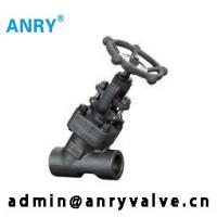 China 800Lb Forged Steel Valves  Stellite Overlay Disc Y Type Globe Valve on sale