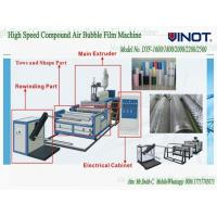 China Vinot Suppliers Bubble Cell Film Making Machine  Custom Made  With Different Standard Model No. DY-1200 wholesale