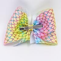 China Decorative Hair Bow Ribbon Net Surface Printed Customzied Color With OEM Service wholesale