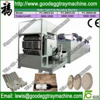 China recycling waste paper egg tray machine price on sale