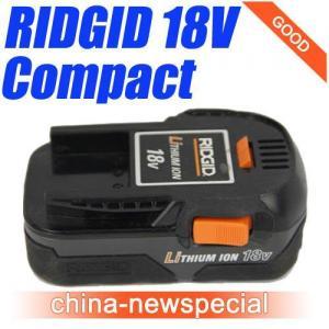 China Ridgid 18V Compact Li-ion Battery 18Volt Lithium Batteries R840084 wholesale