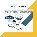 China PTFE Slide Bearing Plates & Strips Composite Bearings Cylindrical Bushings DIN 1494 wholesale