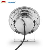 China DMX512 Control Underwater LED Spotlights 24W Color Changing SS316L IP68 DC 12V wholesale