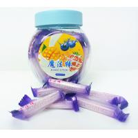 China Blueberry Flavor Healthy Hard Candy / Magic Stick Sweet 4g * 70pcs * 30bottles wholesale