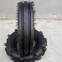 China BOSTONE tractor front tyres 4.00-8 6 ply with TRI RIB F-2 pattern for sale with 3 years quality warranty wholesale