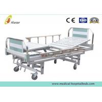 China Aluminum Pipe Medical Hospital Beds Manual 3 Crank Bed For Hospital Care (ALS-M314) wholesale