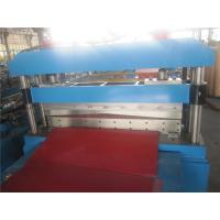 China Color Steel Cut To Length Machine 1500mm Coil Width For Wall Panel wholesale