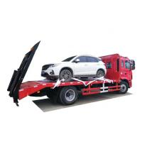 China FAW Powered Platform Vehicle For Transportation 4*2 LHD FAW Flat Truck Euro 3 on sale