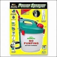 China Battery-powered Garden Sprayer with Shoulder Strap and Extendable Wand wholesale