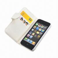 China Case, Designed for iPhone 5, with Card Holder, Keep in Stock, MOQ of 100pcs wholesale