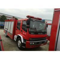 China Industrial 4x2 Fire Fighting Truck With Water / Foam Tank 6 - 8 Ton Capacity on sale