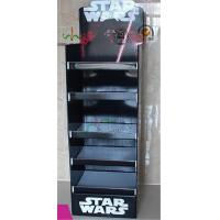China Multi Flies Digital Cardboard Display Stands Box With Footer Matte Varnish wholesale