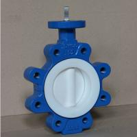 China 4 Inch Wafer Type Butterfly Valve Ductile Iron Butterfly Valve CL150 wholesale