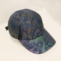 China OEM/ODM ACE brand 100% polyester reflective print sport golf baseball hat cap wholesale