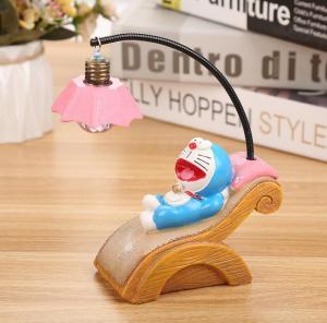 China Japanese Cartoon Figures Doraemon resin crafts led pendant lamp on sale